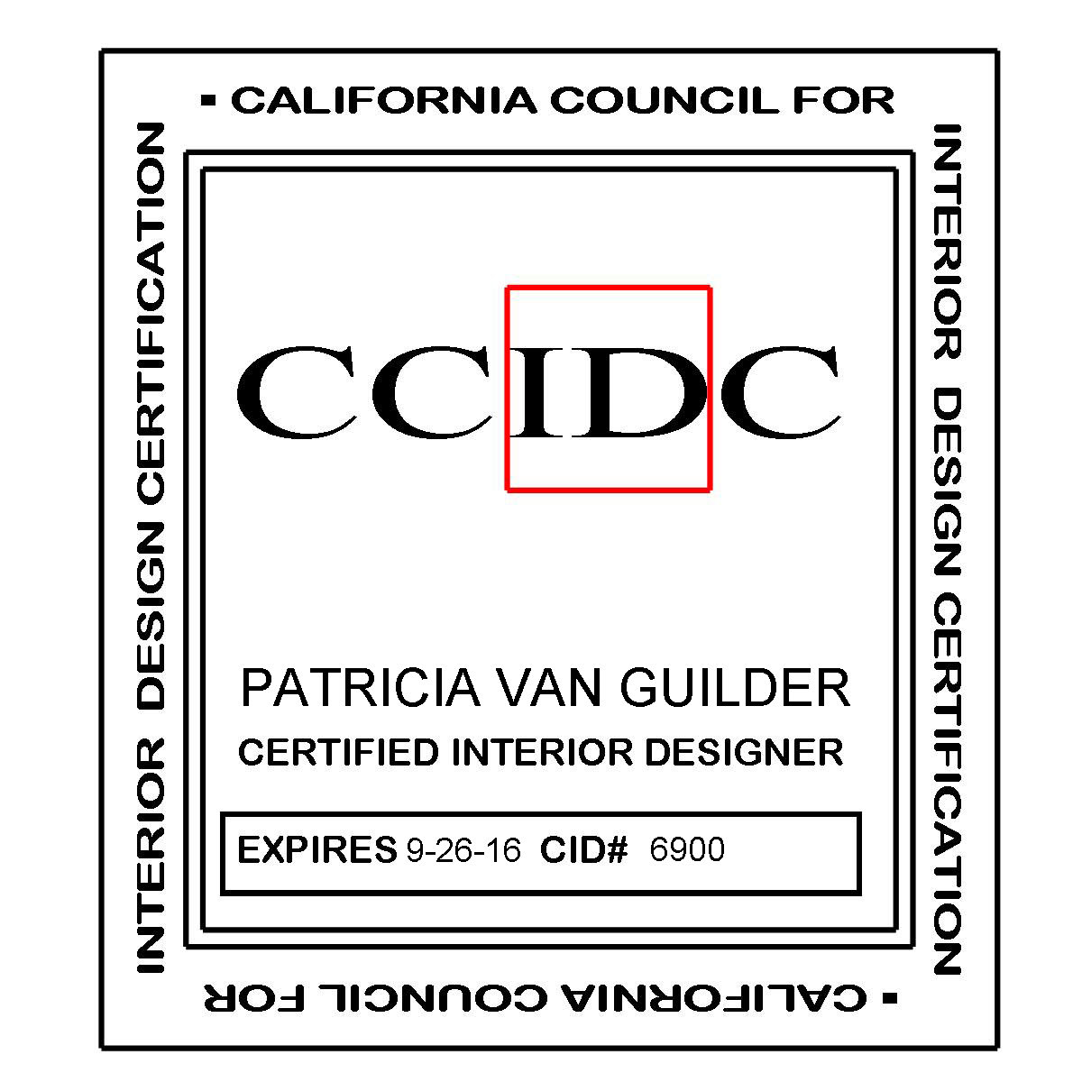 California Council For Interior Design Certification